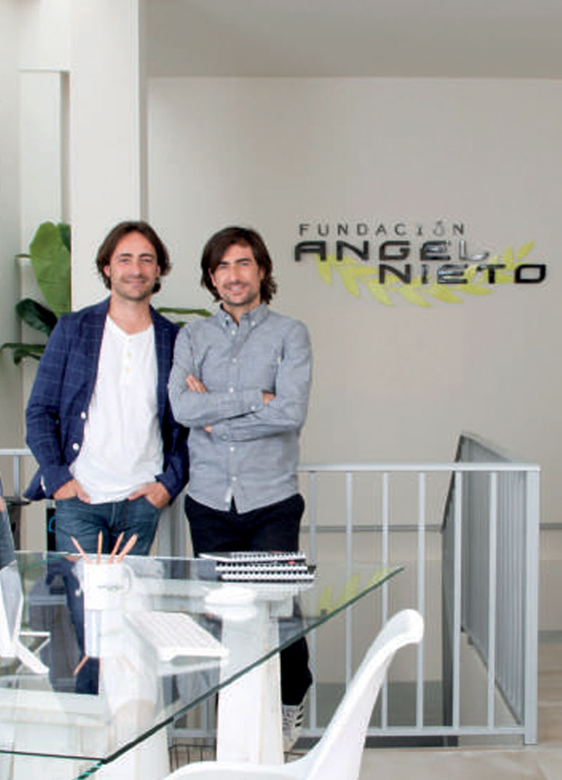 fundación angel nieto y bogym